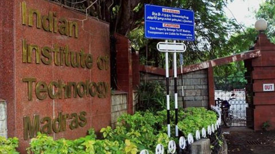 File picture of Indian Institute of Technology Madras (IIT) at Chennai