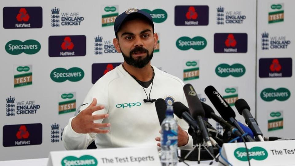 India captain Virat Kohli was named the 'Leading Cricketer in the World' the third time in a row in this year's Wisden Cricketers' Almanack, the publication said on Wednesday. Kohli, 30, was also named as one of Wisden's five cricketers of the year along with England's Jos Buttler and Sam Curran, County Championship-winning captain Rory Burns and Tammy Beaumont from the England women's team. (Paul Childs / REUTERS File)