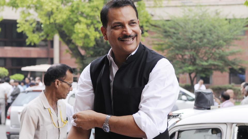 In 2014 Lok Sabha elections, BJP's Rajiv Pratap Rudy defeated RJD leader and former chief minister of Bihar Rabri Devi from Saran in Bihar.