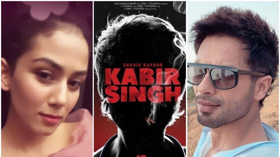 Shahid Kapoor plays an alcoholic medical student in Kabir Singh.