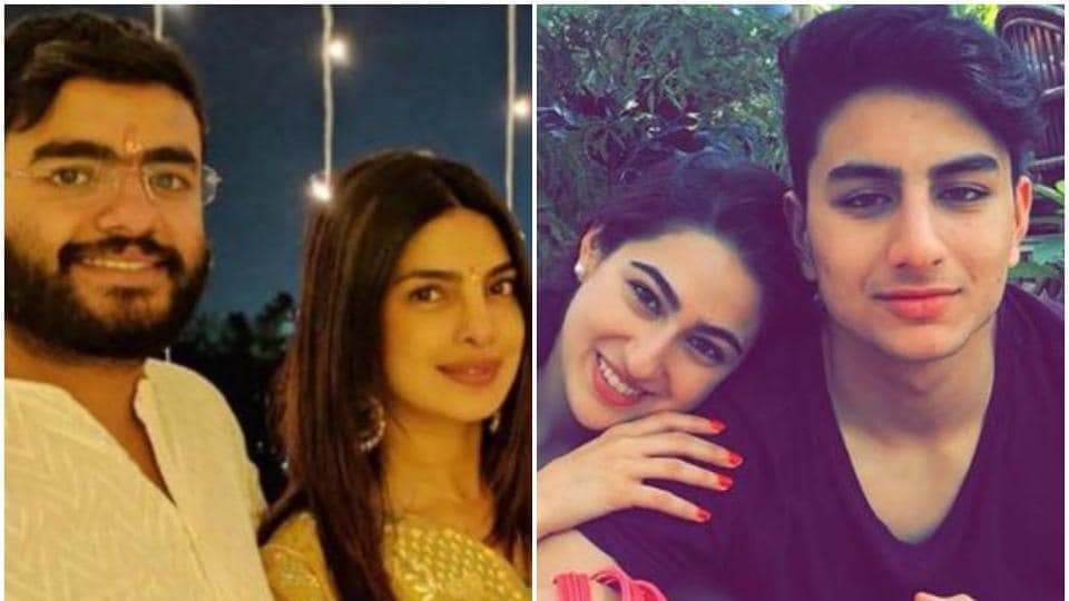 Priyanka Chopra,Sara Ali Khan, Shilpa Shetty among others took to social media to share pictures with their siblings.