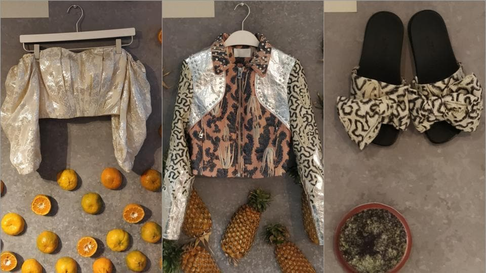 Pineapple leaves, citrus peel, algae biomass, pet bottles: Time to make conscious and sustainable fashion choices.