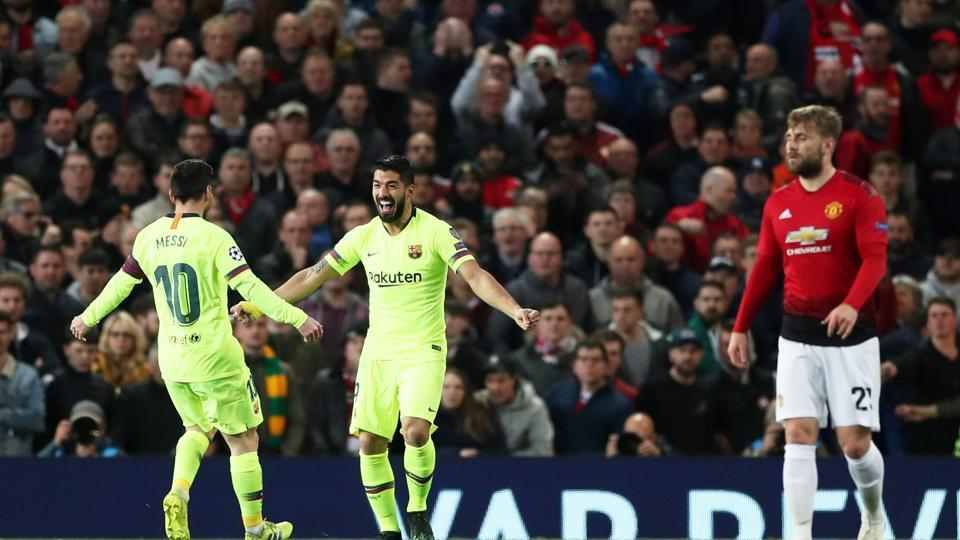 Luke Shaw own goal gives Barcelona advantage over tame Manchester United | football