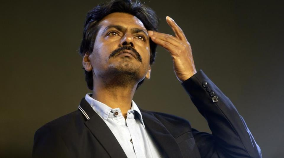 Nawazuddin Siddiqui attends the music launch of the movie Thackeray, in Mumbai.