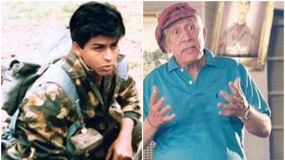 Former Indian Army colonel and actor Raj Kapoor gave Shah Rukh Khan his first major break with Doordarshan serial Fauji in 1989.