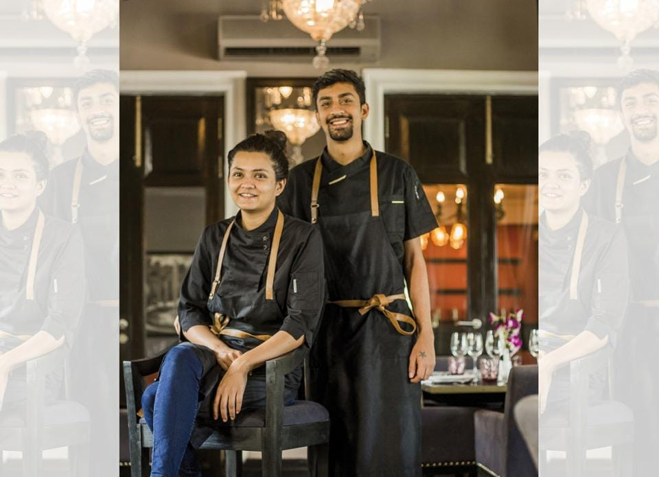 A young couple, Maia Laifungbam and Sanchit Behl met while at Culinary School in Manipal