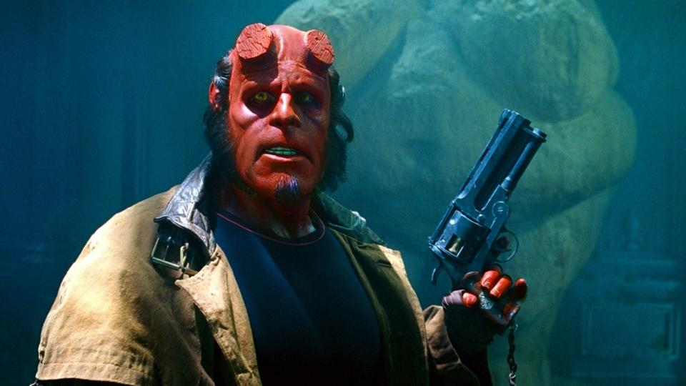 The reboot pits the anti-hero Hellboy (played by David Harbour) against a medieval sorceress (Milla Jovovich) bent on obliterating humankind. That's about all the storyline you're given.