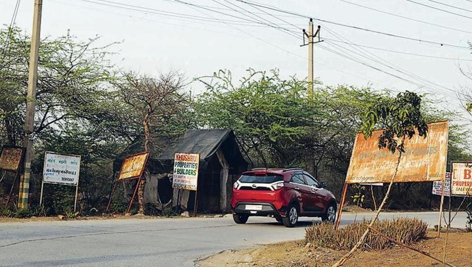 A security post at Gairatpur Bas, which was found unmanned on Thursday, is in a dilapidated condition.