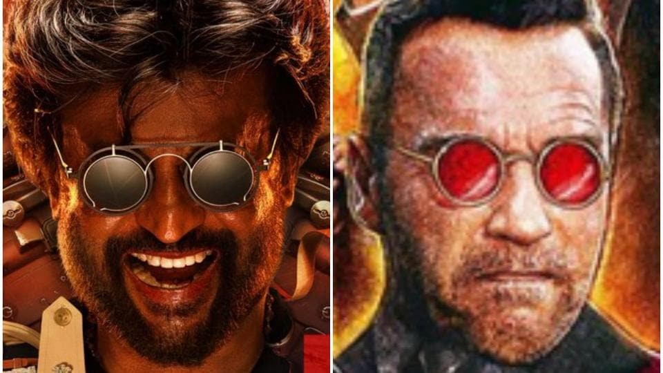 Is Rajinikanth's Darbar poster a rip-off of Arnold Schwarzenegger's Killing Gunther? Twitter thinks so