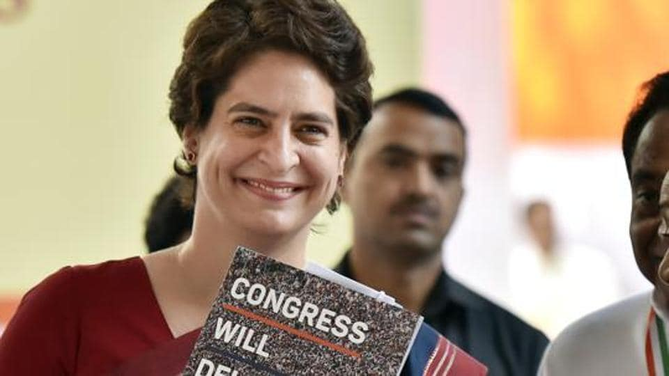 Gujarat Congress spokesperson Kailash Gadhvi said Priyanka Gandhi will address an election rally in the Banaskantha Lok Sabha constituency on April 17 after offering prayers at the Ambaji temple.
