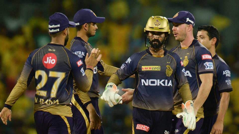 File image of KKR players