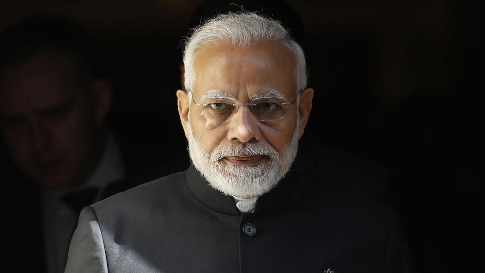 """Prime Minister Narendra Modi has been honoured with Russia's highest state decoration, the Order of St Andrew the Apostle. The award has been given to PM Modi for """"exceptional services in promoting special and privileged strategic partnership between the Russian Federation and the Republic of India and friendly relations between the Russian and Indian peoples"""", a statement by the Russian embassy said. (AFP File)"""