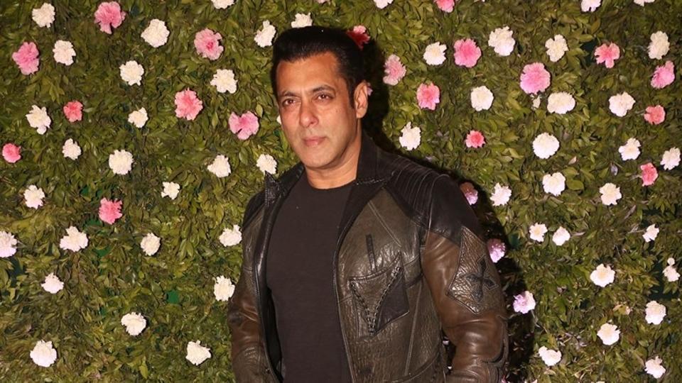 Actor Salman Khan at the wedding reception of Amit Thackeray, son of Maharashtra Navnirman Sena (MNS) chief Raj Thackeray.