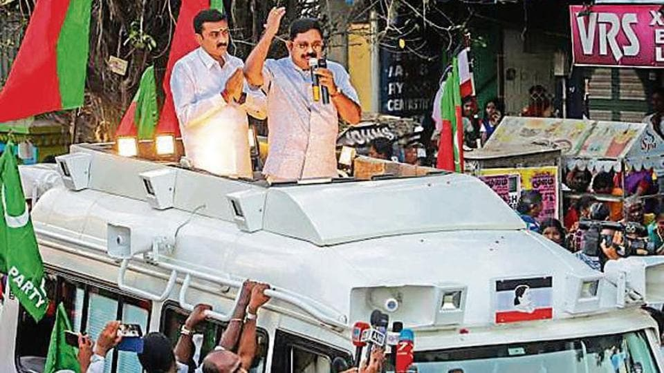 Dhinakaran is a Thevar, one of Tamil Nadu's most influential backward classes, that is numerically concentrated in the central, eastern (the Cauvery delta) and southern parts of the state.