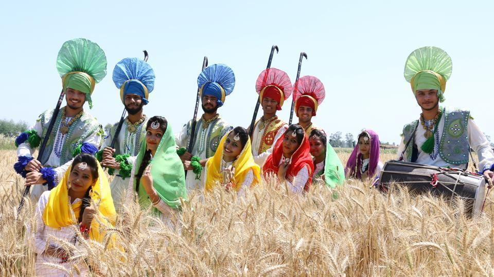 Baisakhi also known as Vaisakhi marks the Punjabi and Sikh New Year and is a spring harvest festival celebrated in Punjab and Northern India.