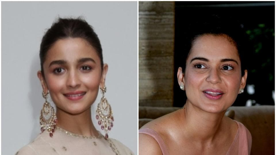 Kangana Ranaut and Alia Bhatt are two of the industry's most well regarded female stars.