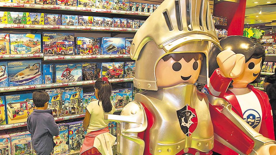 Picture for representation only.  Toys based on film characters, tech toys and DIY kits are some of the popular toys currently.
