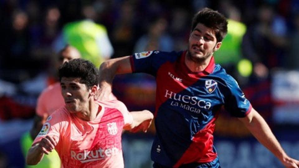 Makeshift Barcelona draw with basement club Huesca | football