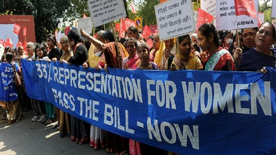 The demand for 33% women's reservation remains unfufilled