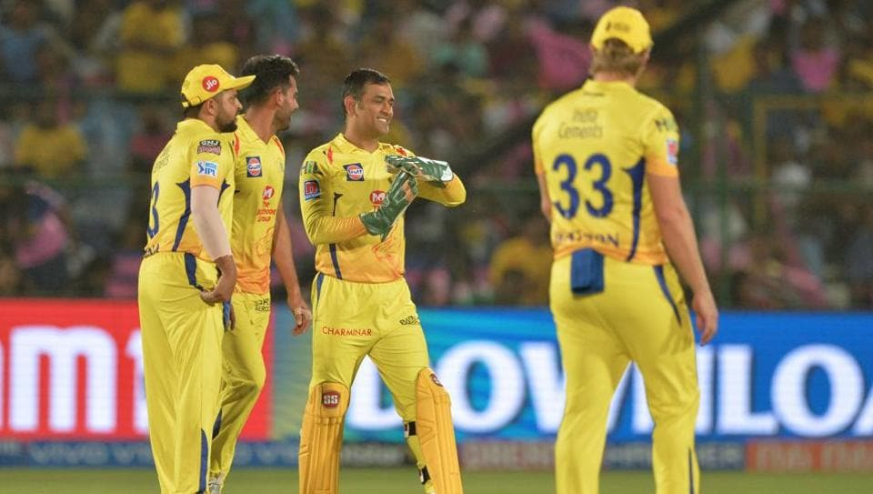 File image of CSK players