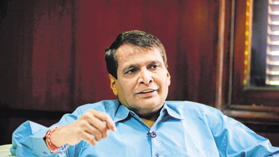"""""""The strategic disinvestment of Air India has been deferred for some time due to adverse market conditions and no bidders had shown interest,"""" says Suresh Prabhu"""