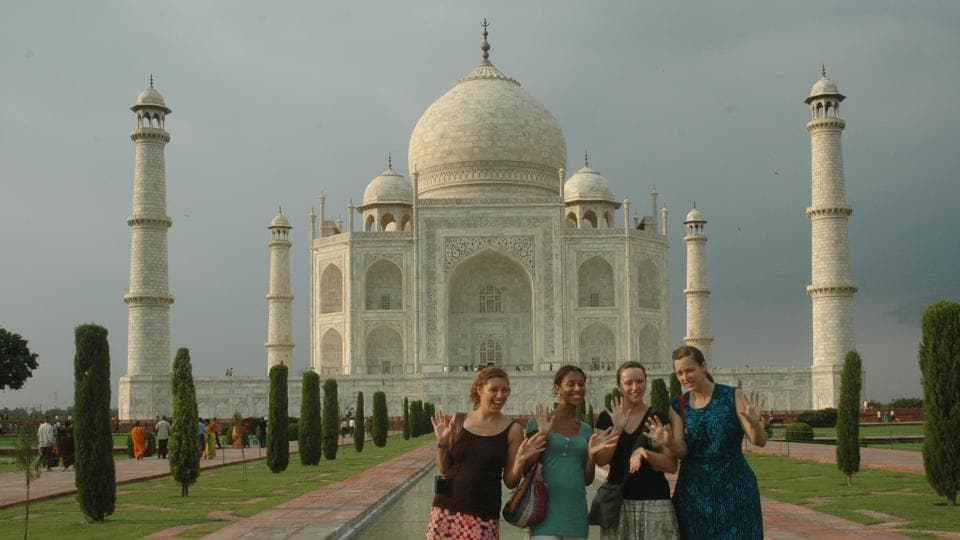 Despite having about 200 protected heritage sites, tourism in Agra is focused around Taj Mahal.