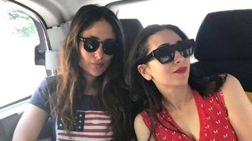 Kareena Kapoor is often seen with Karisma Kapoor in latter's social media posts.