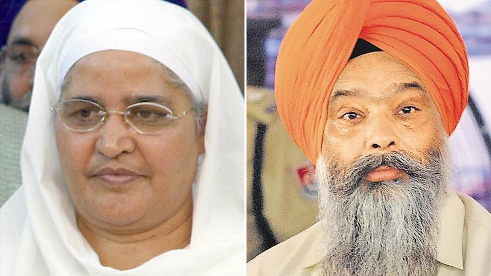 Shiromani Akali Dal has fielded Bibi Jagir Kaur (left) from Khadoor Sahib and PS Chandumajra from the Anandpur Sahib LokSabha seats in 2019 general elections.