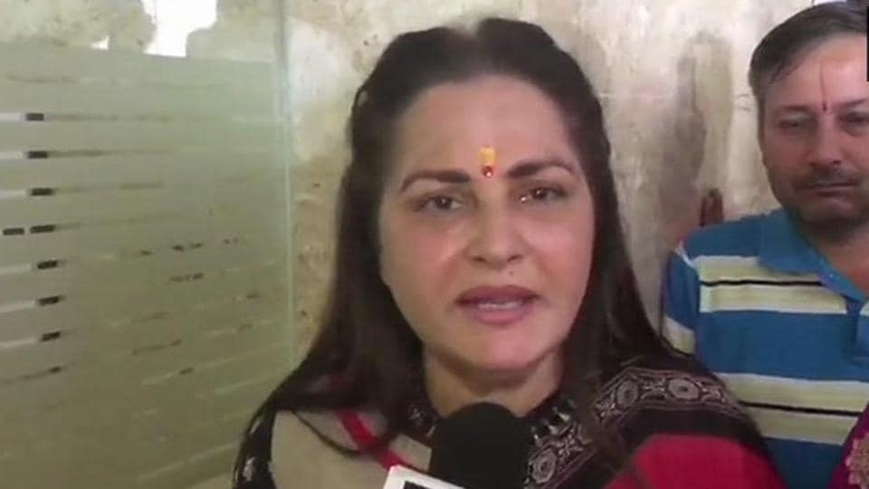 "The veteran SP leader had stoked a controversy with an ""underwear"" jibe against Jaya Prada."