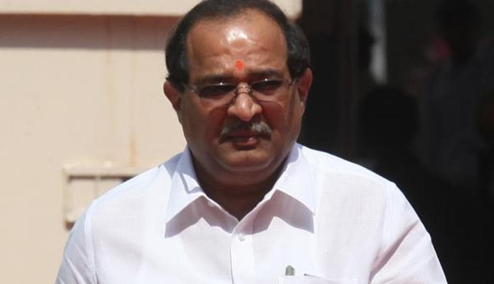 Senior Congress leader Radhakrishna Vikhe-Patil, who is also Leader of the Opposition in the state assembly