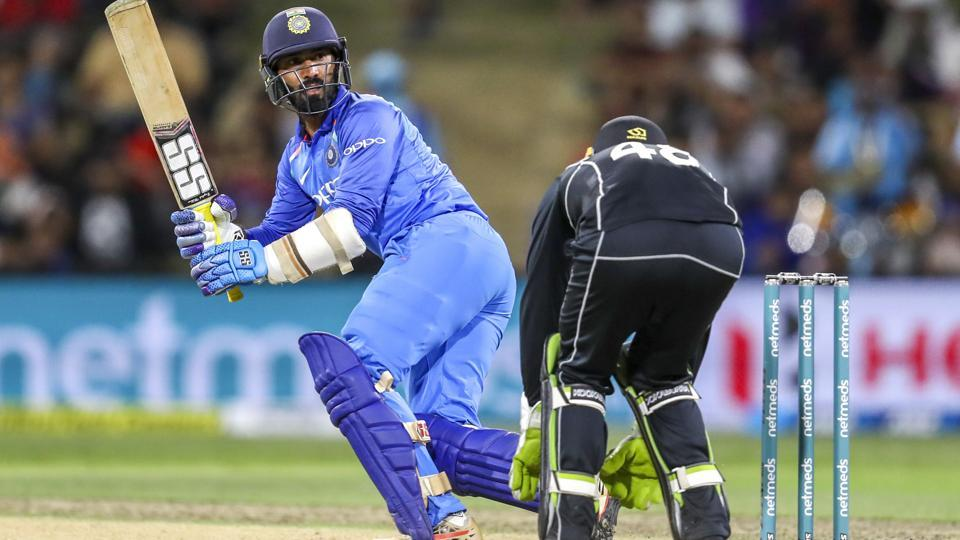 Dinesh Karthik has been deemed a better wicketkeeper by the selectors (although, if that is the case, it is hard to explain how Pant is India's Test wicketkeeper ahead of him). But he does bring a great deal of variety to the table