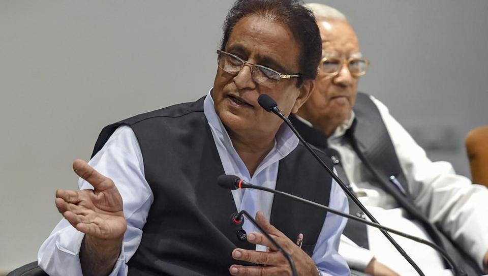 Samajwadi Party leader Azam Khan.