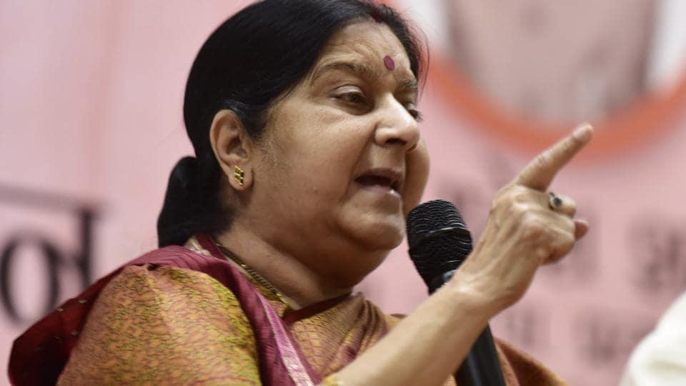 Sushma Swaraj,India news,Azam Khan