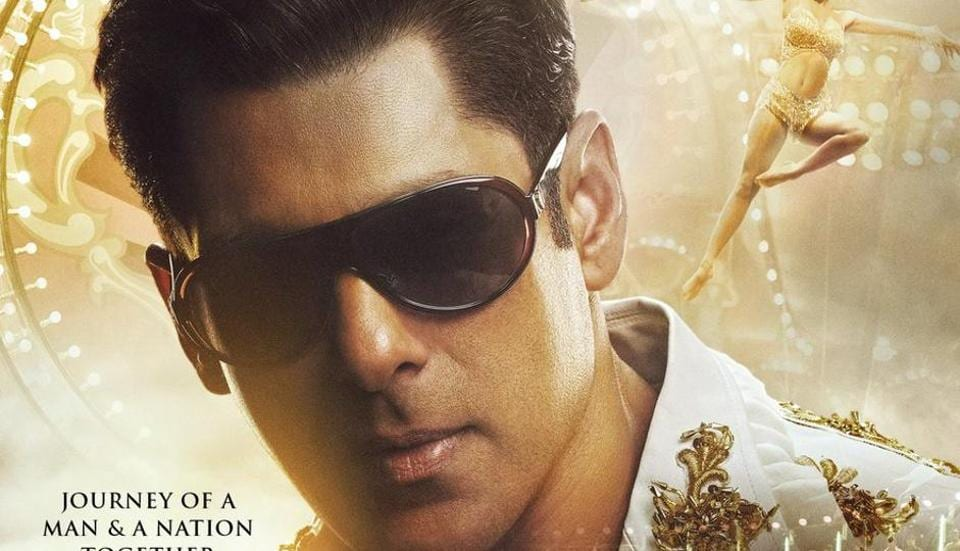 Bharat's latest poster shows Salman Khan as he was in the 90s.