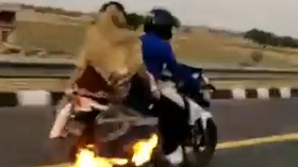 up police,fire,viral video