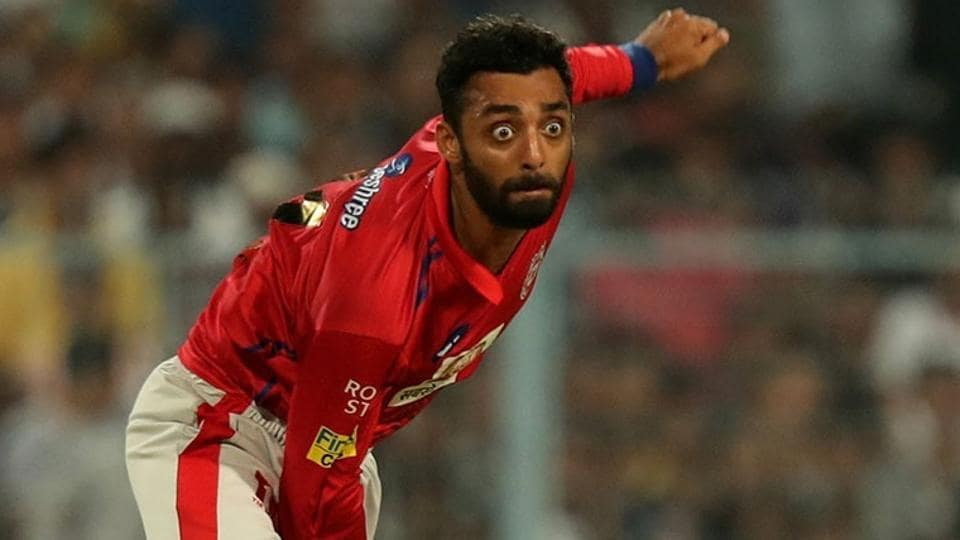Varun Chakravarthy was sidelined by a finger injury and will be ruled out for the better part of the Indian Premier League (IPL).