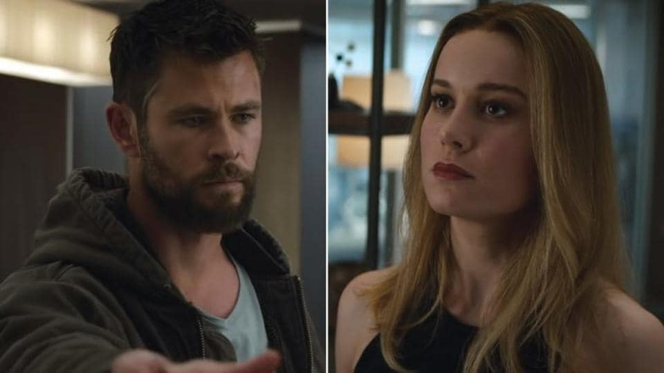 Avengers Endgame star Brie Larson shuts down 'Thor' Chris Hemsworth. Is all well between the two?