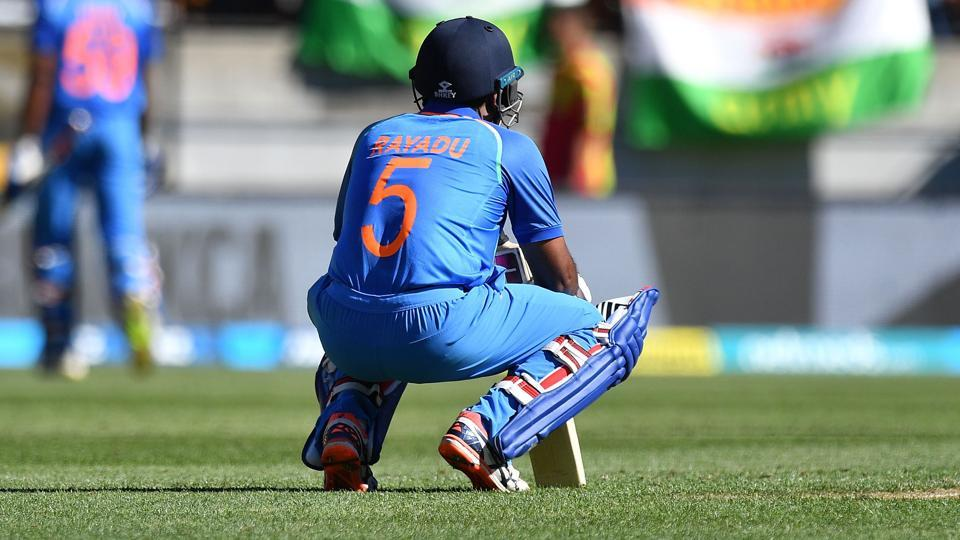 Ambati Rayudu did not find a place in India's World Cup squad as the MSK Prasad-led selection committee went ahead with Vijay Shankar for the No. 4 slot in India's batting order.
