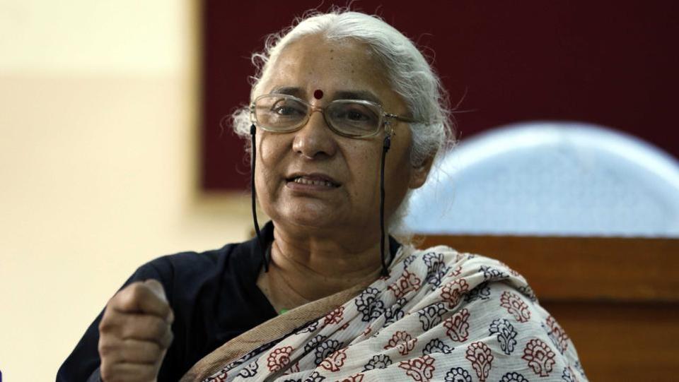 Medha Patkar at SM Joshi Hall
