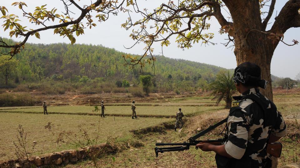 CRPF trooper,CRPF,Maoists