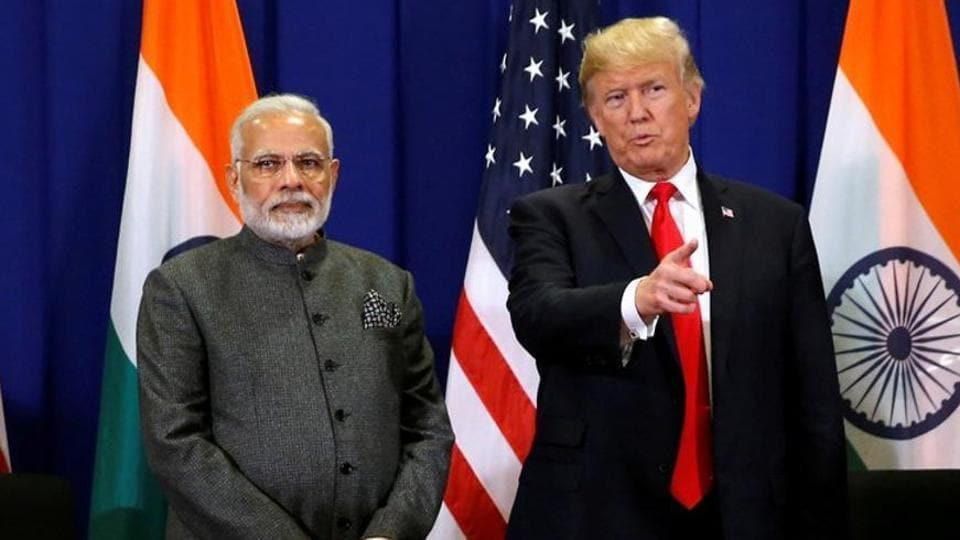 FILE PHOTO: U.S. President Donald Trump holds a bilateral meeting with India's Prime Minister Narendra Modi alongside the ASEAN Summit in Manila, Philippines November 13, 2017. REUTERS/Jonathan Ernst/File Photo