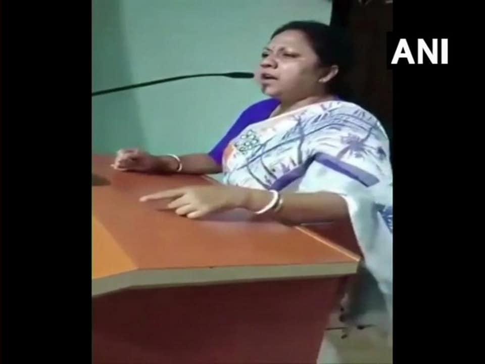 TMC worker,Chakdaha Ratna Ghosh Kar,Trinamool Congress