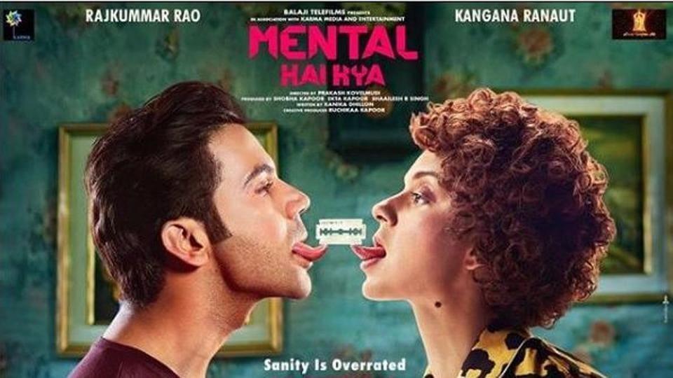 Mental HaiKya stars Kangana Ranaut and RajkummarRao as its lead pair.