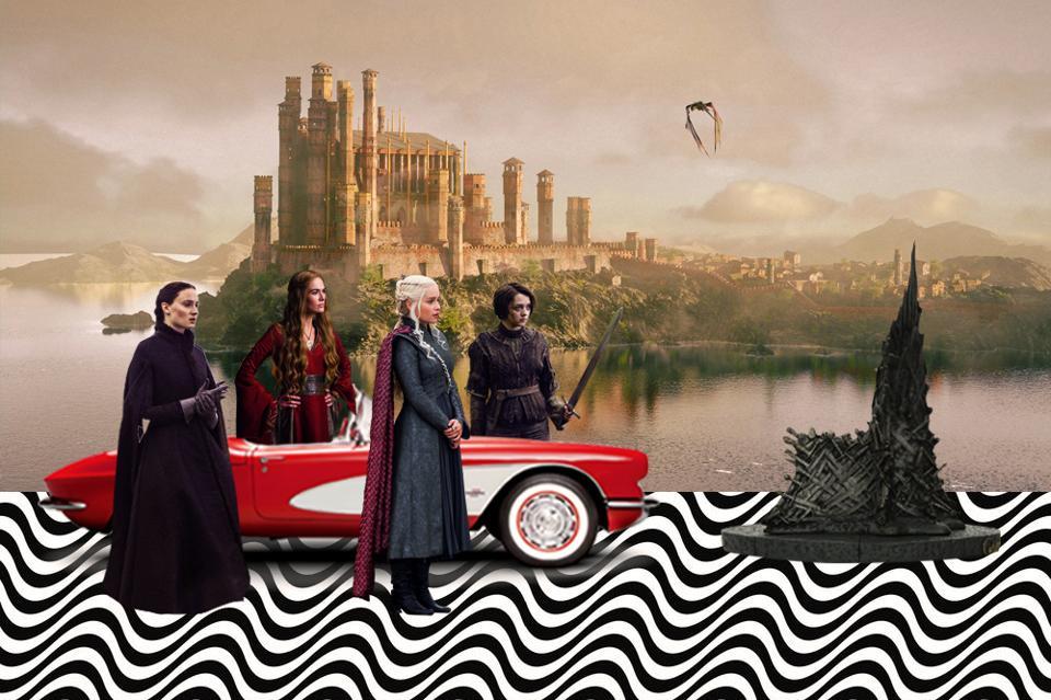 Game of Thrones,Westeros,four women