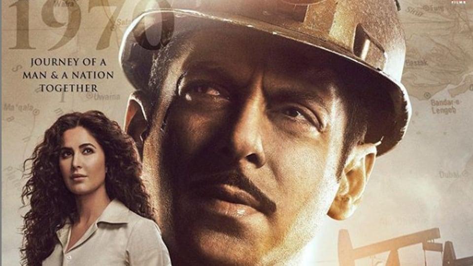 Bharat new poster shows Salman Khan as a miner and Katrina Kaif.