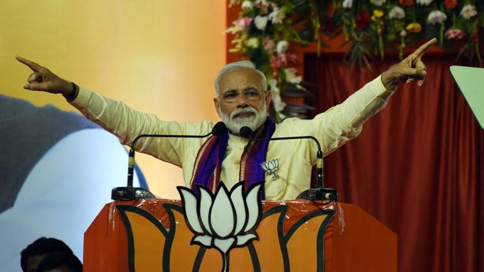 Prime Minister Narendra Modi said that the UPA government had tried to topple the then Gujarat government and had falsely implicated and jailed the now BJP president Amit Shah and Gujarati police officers.