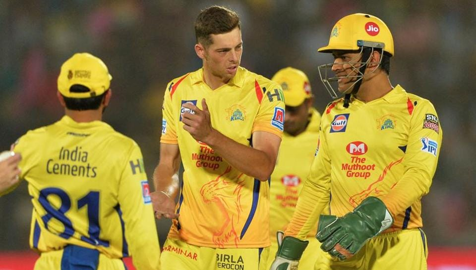 File image of MS Dhoni and CSK team