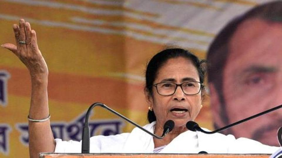 The BJP approached the Election Commission on Wednesday seeking review of a biopic on West Bengal chief minister Mamata Banerjee that is slated to release on May 3.