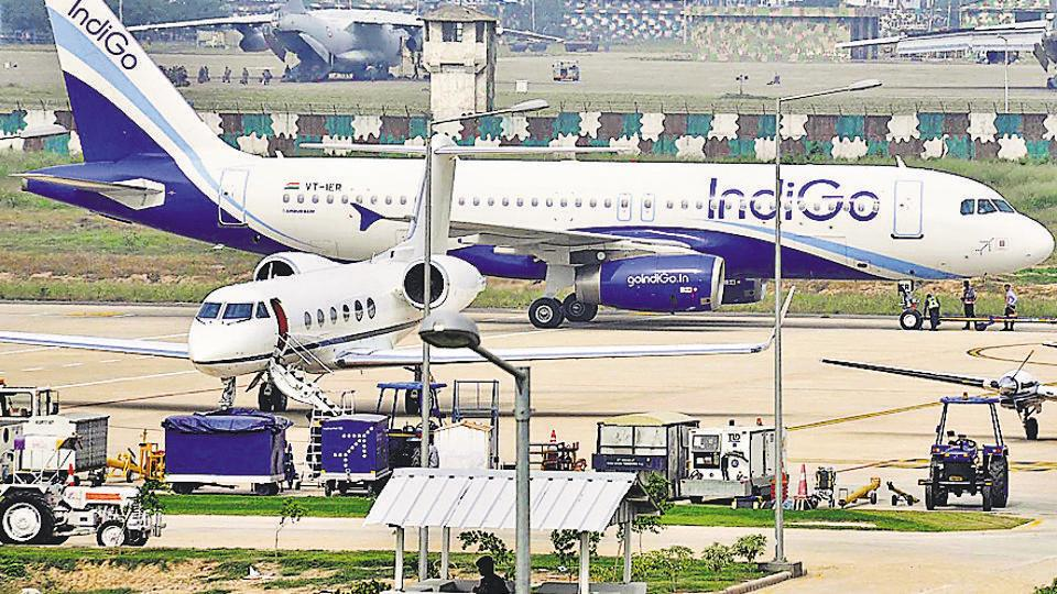 DGCA notice to IndiGo over plane engines: Report. Photo by Gurminder Singh /Hindustan Times.