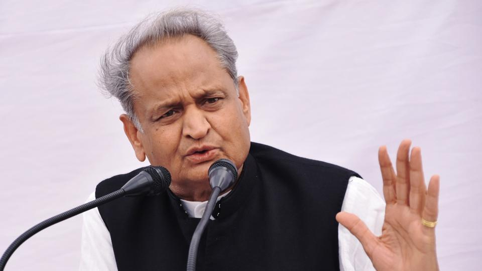 BJP also urged the Election Commission to take cognisance of the matter and take action against Gehlot.